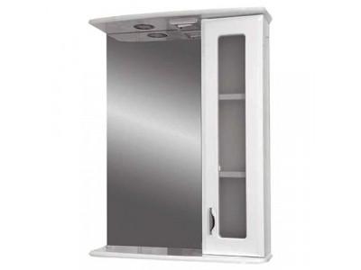 Мебель для ванной Misty Антик - 55  Зеркало - шкаф прав. (свет) Э-Ант02055-01СвП