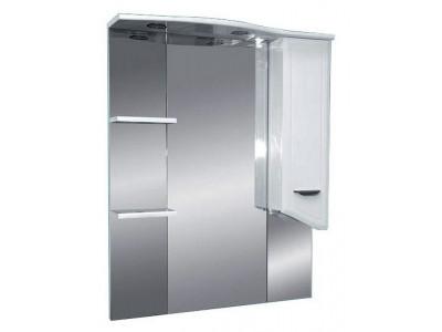 Мебель для ванной Misty Дрея  - 75 Зеркало - шкаф прав. (свет) Э-Дре02075-01СвП