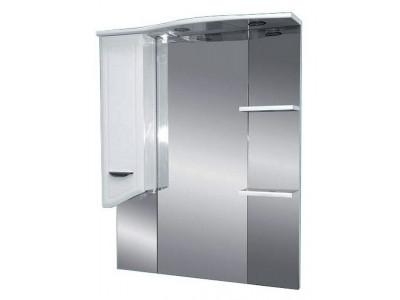 Мебель для ванной Misty Дрея  - 85 Зеркало - шкаф лев. (свет) Э-Дре02085-01СвЛ