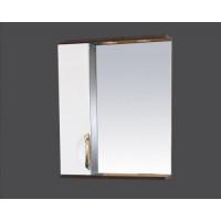 Misty Франко - 55 зеркало-шкаф Венге/белый (свет) лев. П-Фра04055-252СвЛ