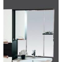 Misty Франко - 65 зеркало-шкаф Венге/белый (свет) лев. П-Фра04065-252СвЛ