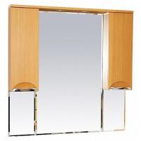Misty Глория - 105 зеркало - шкаф  (свет) БУК П-Гло02105-18Св