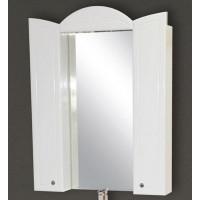 Зеркальный шкаф Misty Илона 90 П-Ило02090-011Св