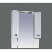 Зеркальный шкаф Misty Камелия 80 П-Кам02080-012Св