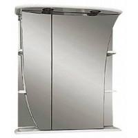 Зеркальный шкаф Misty Ладья 65 L Э-Лад02065-01СвЛ