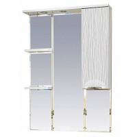 Misty Лорд - 75 зеркало-шкаф (свет) прав.(белая пленка) П-Лрд04075-012СвП