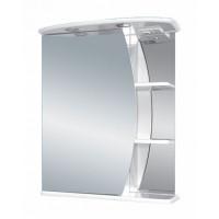Зеркальный шкаф Misty Луна - 55 Зеркало - шкаф лев. (свет) Э-Лун02055-01СвЛ