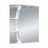 Зеркальный шкаф Misty Луна - 55 Зеркало - шкаф прав. (свет) Э-Лун02055-01СвП