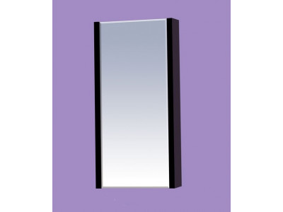 Мебель для ванной Misty Мини -40 Зеркало-шкаф черное П-Мин04040-021