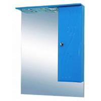 Misty МИСТИ-50 зеркало-шкаф прав.(свет) голубая Э-Мис02050-07СвП