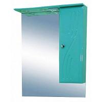 Misty МИСТИ-50 зеркало-шкаф прав. (свет) салатовая Э-Мис02050-06СвП