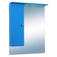 Misty МИСТИ-60 зеркало-шкаф лев. (свет) голубая Э-Мис02060-06СвЛ