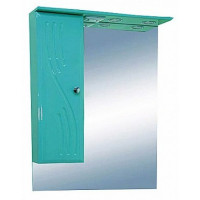 Misty МИСТИ-60 зеркало-шкаф лев. (свет) салатовая Э-Мис02060-07СвЛ