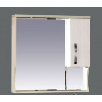 Зеркальный шкаф Misty Модерн 80 R П-Мод02080-19СвП