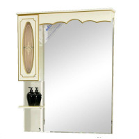 Зеркальный шкаф Misty Монако 70 L белый Л-Мнк02070-013Л