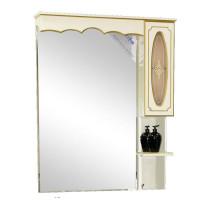 Зеркальный шкаф Misty Монако 70 R белый Л-Мнк02070-013П