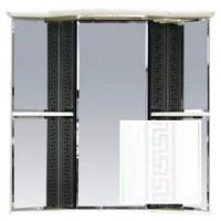 Зеркальный шкаф Misty Олимпия - 60 Зеркало - шкаф угловое  прав. белое факт. П-Оли02060-012УгП