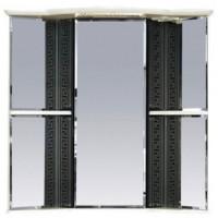 Misty Олимпия - 60 Зеркало - шкаф угловое прав. белое/венге П-Оли02060-252УгП