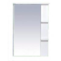 Misty Олимпия - 75 Зеркало белое фактурное правое П-Оли02075-012П