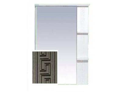 Мебель для ванной Misty Олимпия - 75 Зеркало комб.венге/белый правое П-Оли02075-252П