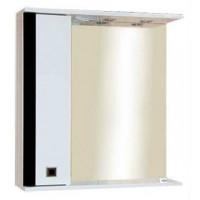 Зеркальный шкаф Misty Палермо 70 L черный П-Пал04070-231СвЛ