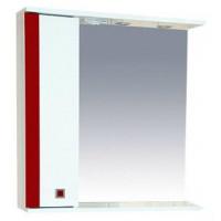 Зеркальный шкаф Misty Палермо 70 L красный П-Пал04070-261СвЛ
