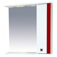 Зеркальный шкаф Misty Палермо 70 R красный П-Пал04070-261СвП