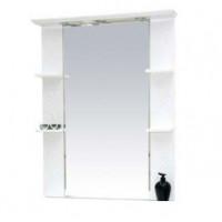 Misty Вирджиния (Бабочка) - 90 зеркало белый фактурный П-Вир02090-012