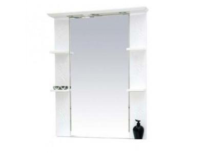 Мебель для ванной Misty Вирджиния (Бабочка) - 90 зеркало белый фактурный П-Вир02090-012