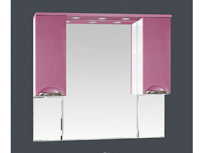 Мебель для ванной Misty Жасмин 105 розовый П-Жас02105-122Св