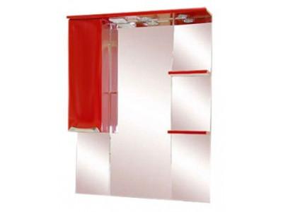 Мебель для ванной Misty Жасмин 75 L красный П-Жас02075-041СвЛ