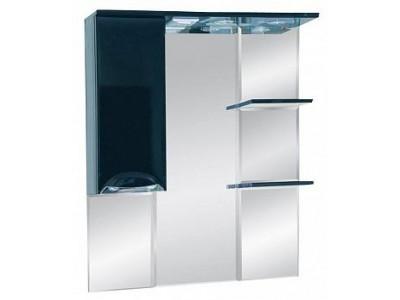Мебель для ванной Misty Жасмин 85 L черный П-Жас02085-021СвЛ
