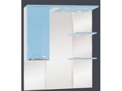 Мебель для ванной Misty Жасмин 85 L голубой П-Жас02085-061СвЛ
