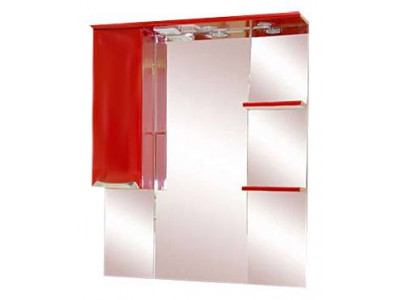 Мебель для ванной Misty Жасмин 85 L красный П-Жас02085-041СвЛ