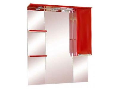 Мебель для ванной Misty Жасмин 85 R красный П-Жас02085-041СвП