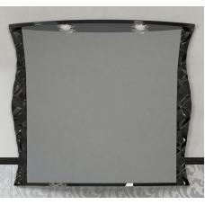 Misty CHARME - 100 Зеркало черное со светом Л-Чар02100-021Св