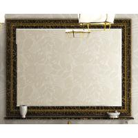 Зеркало Misty Fresko 120 краколет черный патина Л-Фре03120-0217