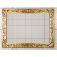 Зеркало Misty Bogema 100 золото Л-Бог02100-163