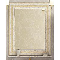Зеркало Misty Fresko 90 краколет белый патина Л-Фре03090-0117