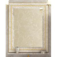 Зеркало Misty Fresko 75 краколет белый патина Л-Фре03075-0117