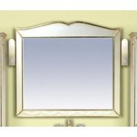 Misty Анжелика - 100 Зеркало белое сусальное золото  со светильниками Л-Анж02100-391Св