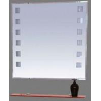 Misty Эллада - 75 Зеркало с красной полочкой  (свет) П-Элл03075-43Св