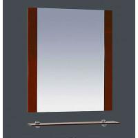 Misty Эмилия - 60 Зеркало красное с полочкой П-Эми03060-041