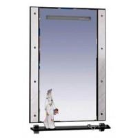Зеркало Misty Гранд Lux 60 бело-черное Cristallo Л-Грл02060-239Кс