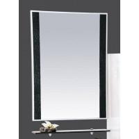 Зеркало Misty Гранд Lux 60 черно-белое Croco Л-Грл02060-249Кр