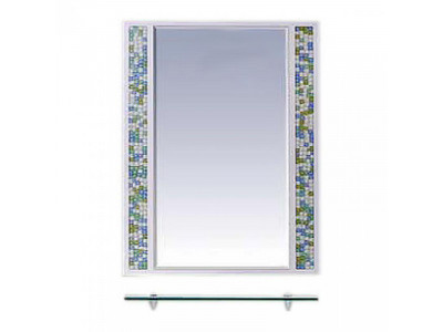 Мебель для ванной Misty Жемчужина 60 белое/голубое П-Жем03060-328