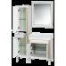 Мебель для ванной Misty Женева - 40 Пенал без Б/К белая патина левый П-Жен05040-013БкЛ