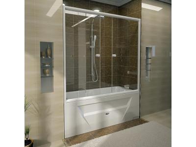 RADOMIR Ларедо Стеклянная шторка на ванну Ларедо 170х78