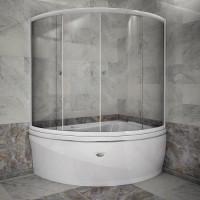 RADOMIR Альбена Стеклянная шторка ЛЮКС на ванну Альбена