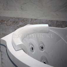 RADOMIR Паллада Подголовник на ванну Паллада